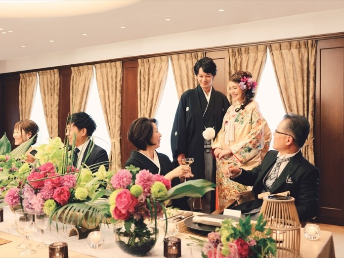 <br>【披露宴】桜の間/着席~20名