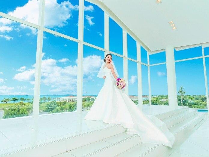 2c756360eae46 シー シェル ブルー○サザンビーチホテル&リゾート(小さな結婚式)で結婚 ...