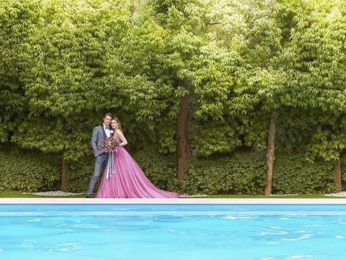 カラードレス ピンク2