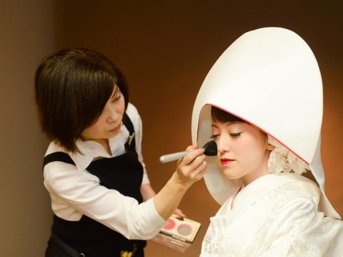 洋髪×綿帽子