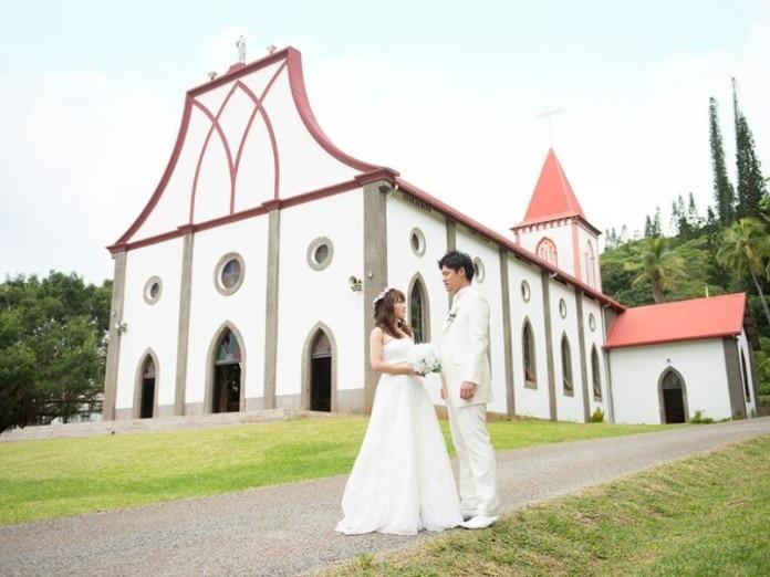 Ile des Pins Island Wedding