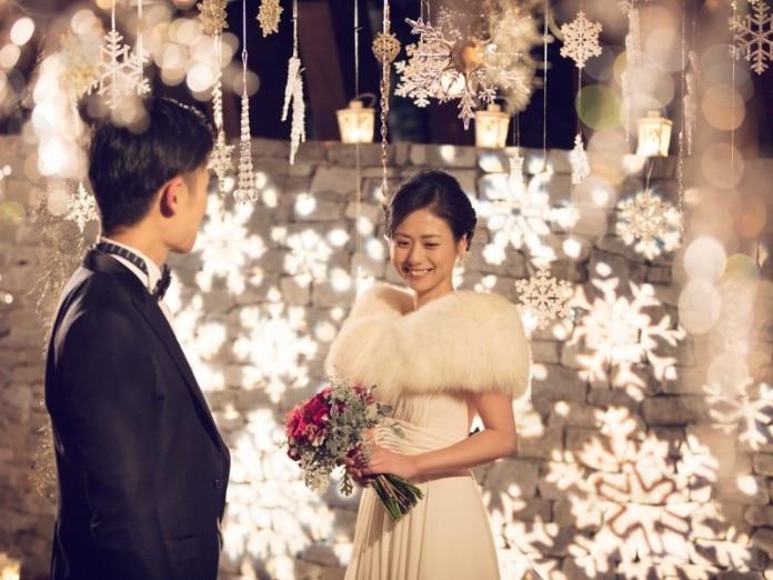 冬の結婚式