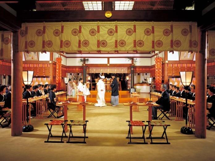 写真:東京大神宮/東京大神宮マツヤサロン)