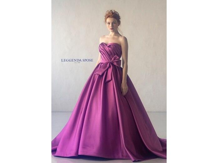 カラードレス<br>【ウエディングドレス・和装・その他】カラードレス/赤・オレンジ・ピンク系