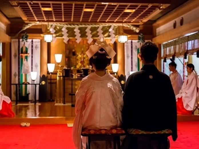 寒川神社参集殿