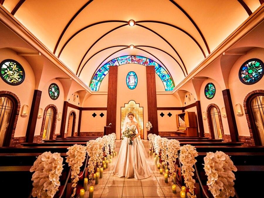 挙式 キリスト教式 チャペルカナ 全国的にも大変珍しい2階建て