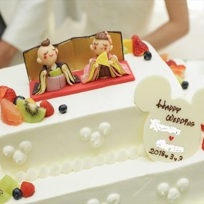 大人可愛いケーキ