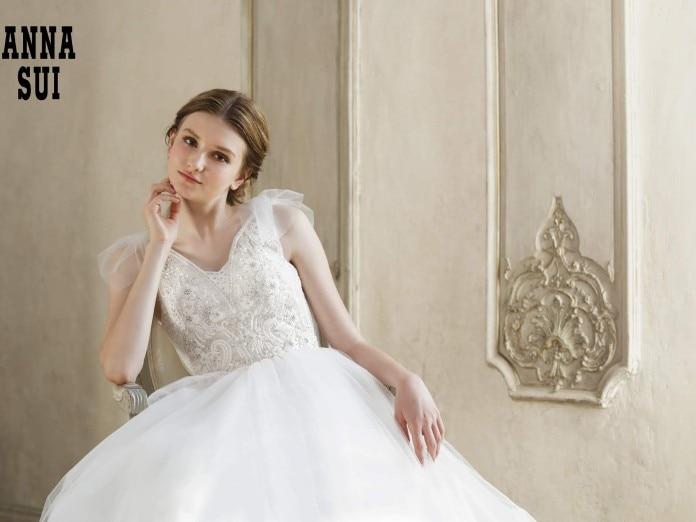 ウェディングドレス Anna sui<br>【ウエディングドレス・和装・その他】ウエディングドレス
