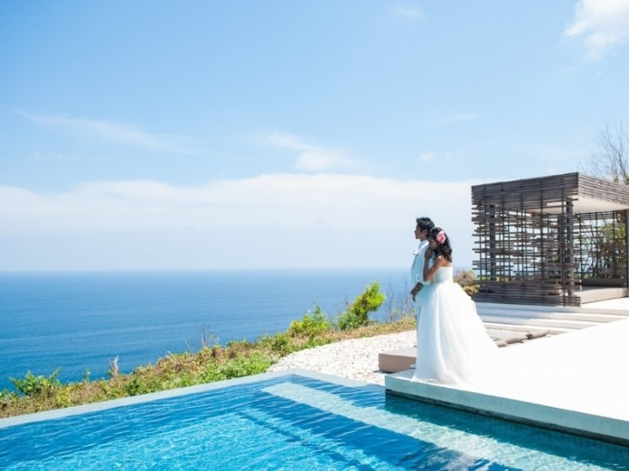 Alila Uluwatu Private Villa Garden Wedding