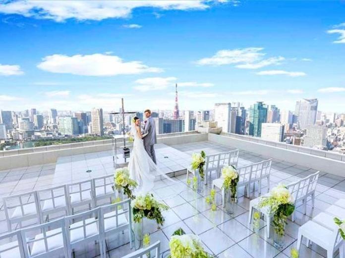東京タワーやスカイツリーも一望!地上221mのスカイウェディングを!!
