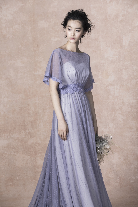 カラードレス パープル