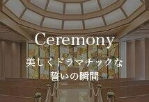 Ceremony 美しくドラマチックな誓いの瞬間