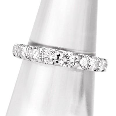 b7aebf5f88 1カラット エタニティ Sweet Eternity プラチナ ダイヤモンドリング 婚約指輪 1カラット