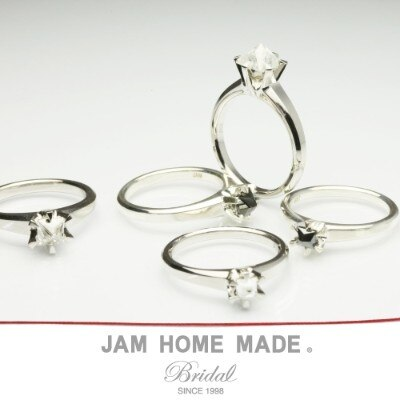CLEAR STUDS DIAMOND RING01