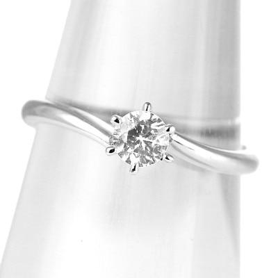 f6e952c58b ソリティア シンプル Sweet Engage プラチナ ダイヤモンド 婚約指輪 エンゲージリング